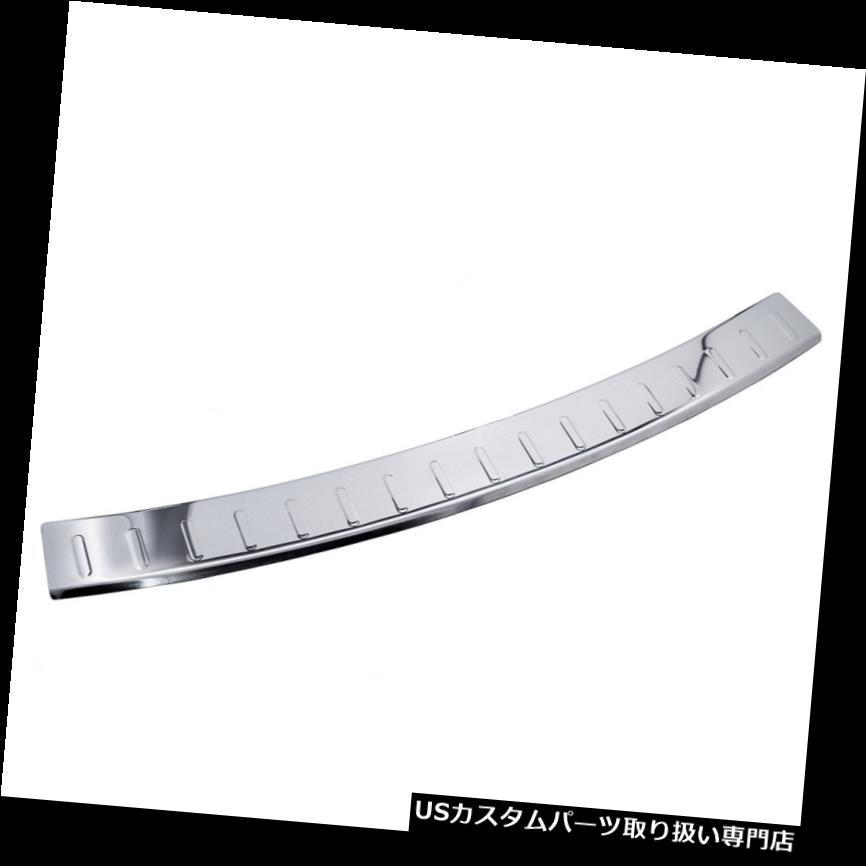 リアステップバンパー アウディQ5 SQ5リアバンパーステンレスプロテクターガードトリムカバークロームSライン Audi-Q5 SQ5 Rear Bumper Stainless Steel Protector Guard Trim Cover Chrome S Line