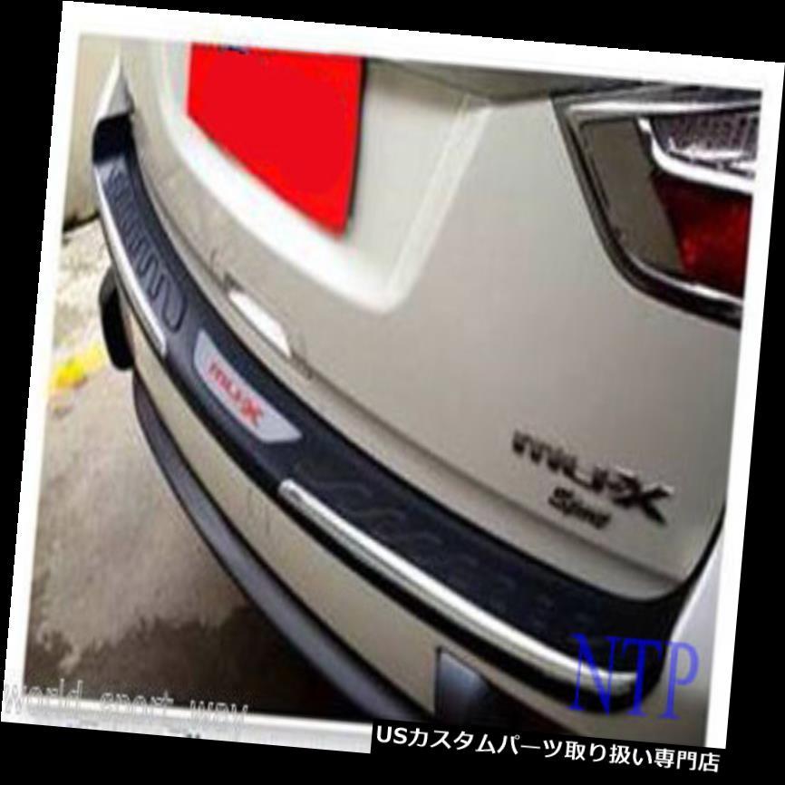 リアステップバンパー テールリアドアバンパー保護ステップカバートリム新いすゞMu-x Mux SUV 2014 15 Tail Rear Door Bumper Protect Step Cover Trim For New Isuzu Mu-x Mux SUV 2014 15