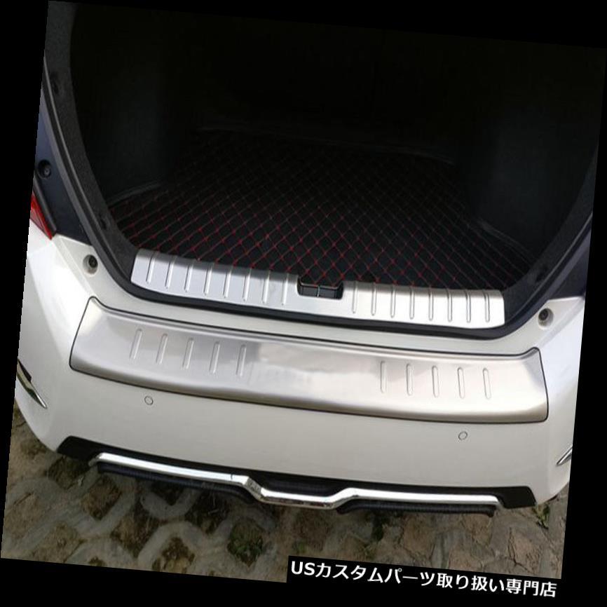 リアステップバンパー ホンダシビック2016用リアバンパープロテクタートランクステッププレートカバーフィット Out And In Rear Bumper Protector Trunk Step Plate Cover Fit For Honda Civic 2016