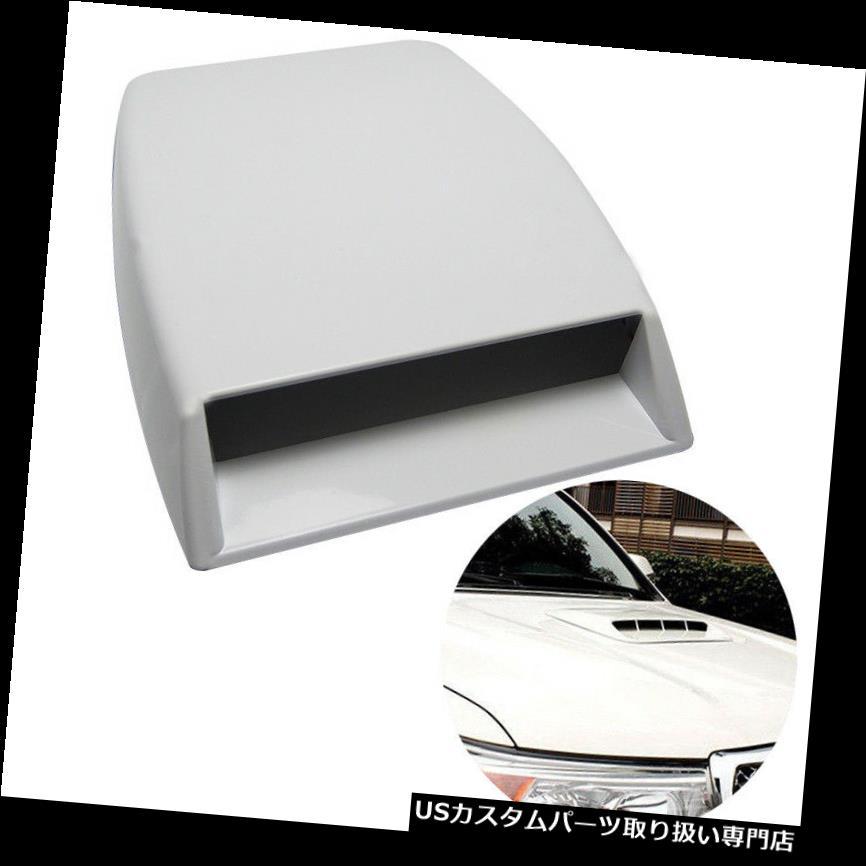 ボンネットフードベントスクープカバー 車のトラックの屋根の装飾的な気流の吸気フードのスクープの出口のボンネットの耐久カバー Car Truck Roof Decorative Air Flow Intake Hood Scoop Vent Bonnet Durable Cover