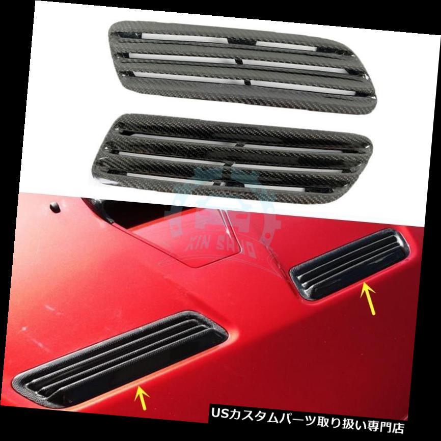ボンネットフードベントスクープカバー 三菱EVO 10 08-15のための炭素繊維のボンネットの前部フードの空気スクープの通気口カバー Carbon Fiber Bonnet Front Hood Air Scoop Vent Cover For Mitsubishi EVO 10 08-15