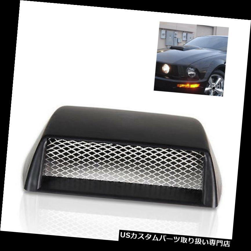 ボンネットフードベントスクープカバー 車の気流の装飾吸気フードスクープボンネットベントカバー3Dは便利なシミュレート Car Air Flow Decor Intake Hood Scoop Bonnet Vent Cover 3D Simulate Convenient