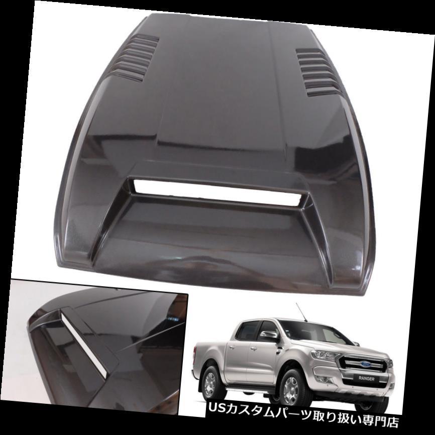 ボンネットフードベントスクープカバー フードスクープボンネットカバートリムベントフィット2015+フォードレンジャーフェイスリフトワイルドトラック HOOD SCOOP Bonnet Cover Trim Vent Fit 2015+ Ford Ranger Facelift Wildtrak