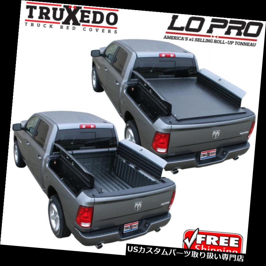 トノーカバー トノカバー TruXedo Lo Pro Tonneauロールアップベッドカバー2019ダッジラム1500ワット/ラムボックス5.7 ' TruXedo Lo Pro Tonneau Roll Up Bed Cover for 2019 Dodge Ram 1500 w/ RamBox 5.7'