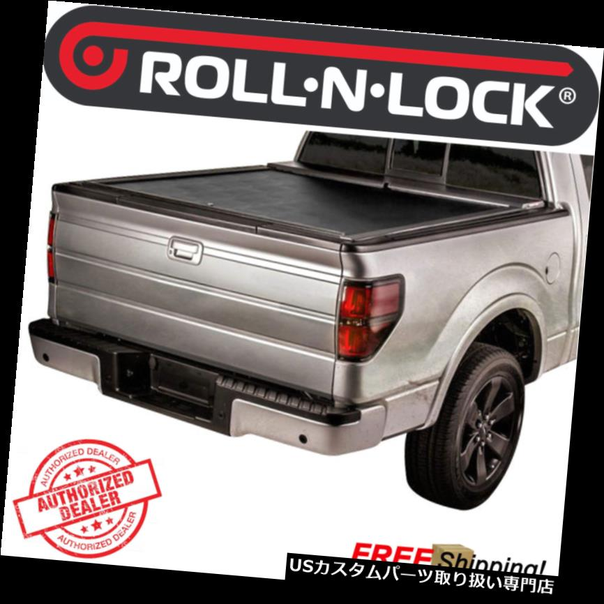 トノーカバー トノカバー ロールNロックMシリーズ2017-2018フォードSD 8 'ベッド用格納式ハードトノカバー Roll-N-Lock M Series Retractable Hard Tonneau Cover For 2017-2018 Ford SD 8' Bed