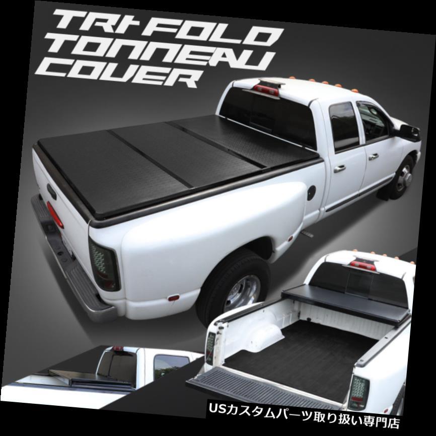 トノーカバー トノカバー 07-18トヨタツンドラ6.5 'ベッドアルミフレームハードソリッド三つ折りトノーカバー For 07-18 Toyota Tundra 6.5'Bed Aluminum Frame Hard Solid Tri-Fold Tonneau Cover