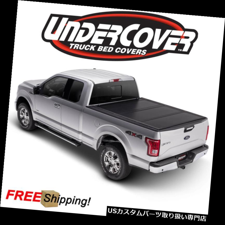 トノーカバー トノカバー 2015-2018年フォードF150 5.6 'ベッドのための覆面UltraFlexハード折りたたみトノカバー Undercover UltraFlex Hard Folding Tonneau Cover For 2015-2018 Ford F150 5.6' Bed