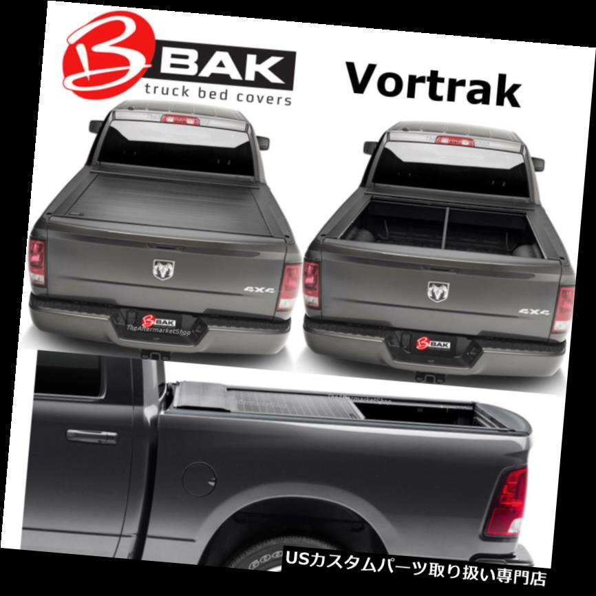 トノーカバー トノカバー BAK Vortrakハードリトラクタブルトノーカバーは2009-2019にフィットDodge Ram 5'7 Bed BAK Vortrak Hard Retractable Tonneau Cover Fits 2009-2019 Dodge Ram 5'7 Bed