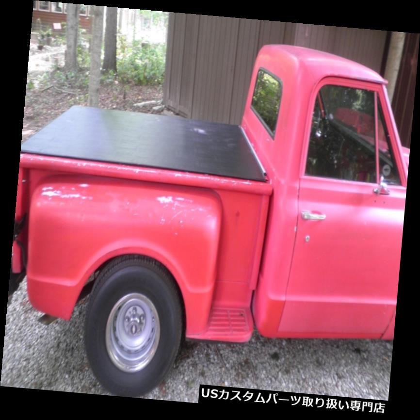 トノーカバー トノカバー 1954-87シボレーC10ステップサイド6 'ショートベッドハッチスタイルトノーby Craftec Covers 1954-87 Chevy C10 Stepside 6' Short Bed Hatch Style Tonneau by Craftec Covers