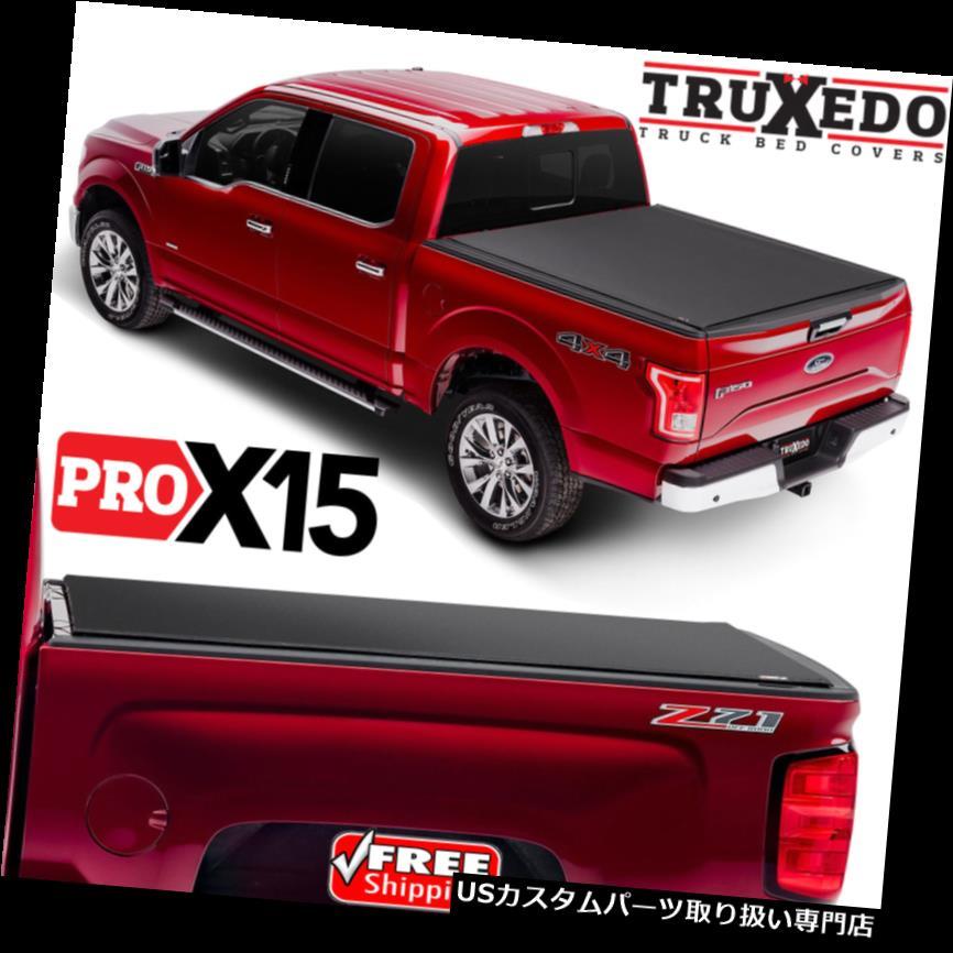 トノーカバー トノカバー TruXedo Pro X 15 Tonneauロールアップカバー15-18フォードF150 5.5 'ショートベッド1497701 TruXedo Pro X15 Tonneau Roll Up Cover for 15-18 Ford F150 5.5' Short Bed 1497701