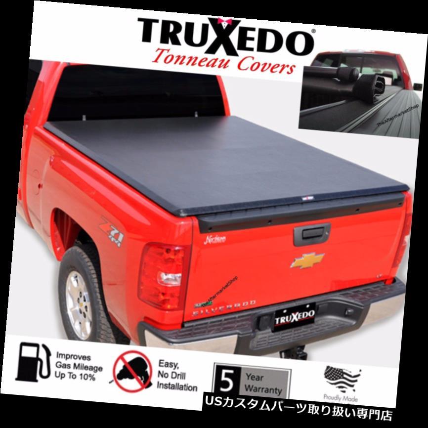 トノーカバー トノカバー TruXedoはシボレーシルバラード/ GMCシエラ6.6FTベッド用ベッドカバーをロールアップ(2014-2019) TruXedo Roll Up Bed Cover For Chevy Silverado / GMC Sierra 6.6FT Bed (2014-2019)