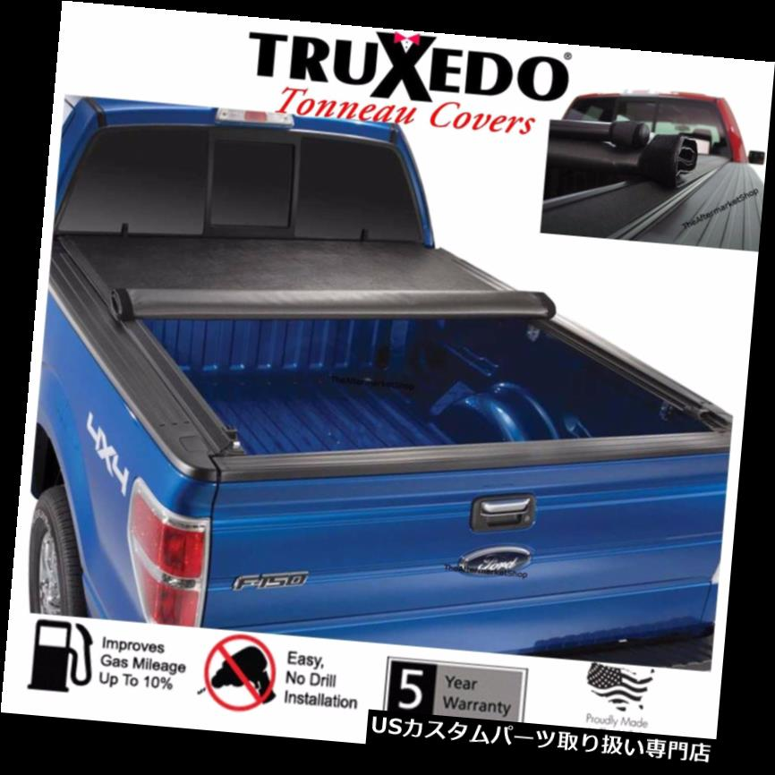 トノーカバー トノカバー 2018 2019フォードF150トラック5.5 'ベッドTruXedo TruXportトノーカバーロールアップ 2018 2019 Ford F150 Truck 5.5' Bed TruXedo TruXport Tonneau Cover Roll Up