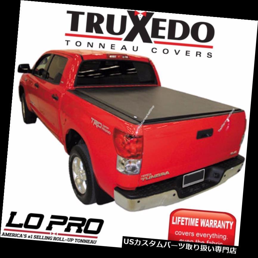 USトノーカバー/トノカバー Truxedo LoPro QTインサイドレールトノーカバー15-18 GMC Sierra 2500 3500 6'6ベッド Truxedo LoPro QT Inside Rail Tonneau Cover 15-18 GMC Sierra 2500 3500 6'6 Bed