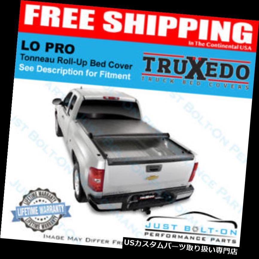 トノーカバー トノカバー TruXedo Lo Pro 10-18 Dodge Ram 2500/3500 6'4