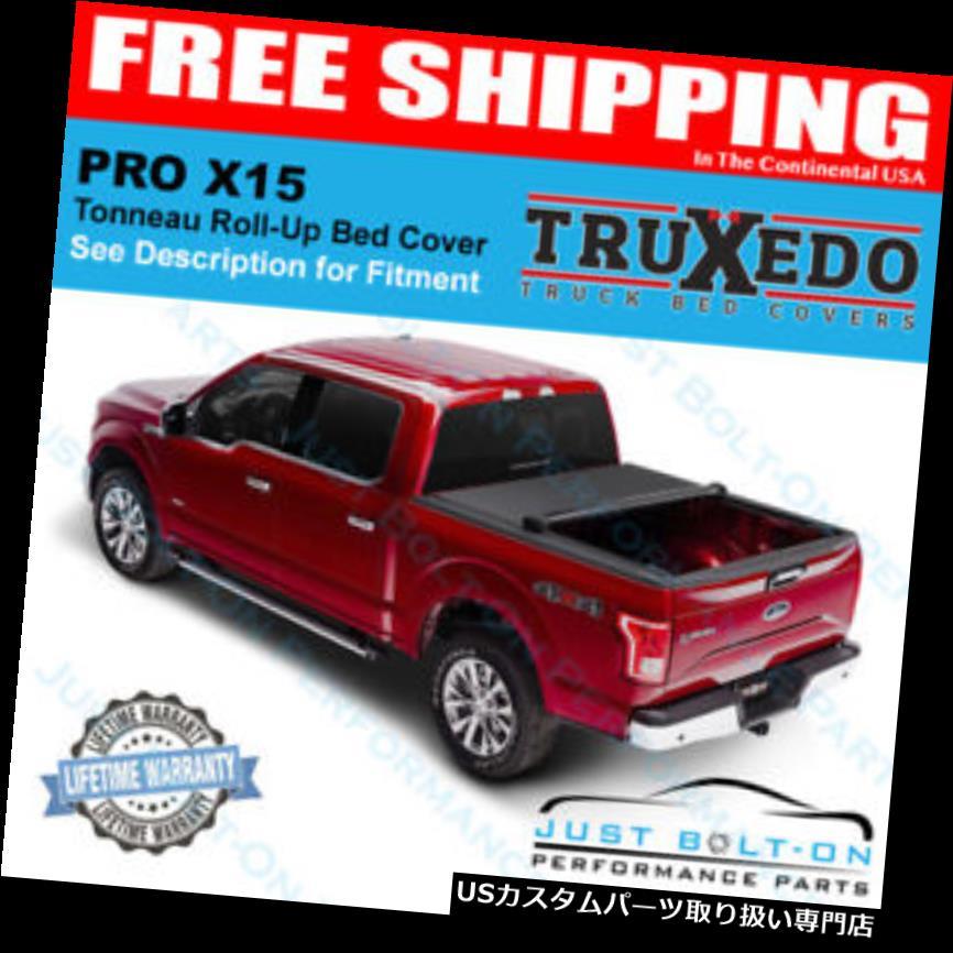 トノーカバー トノカバー TruXedo Pro X 15 Tonneauカバー2015-2019フォードF-150 /ラプター5'6