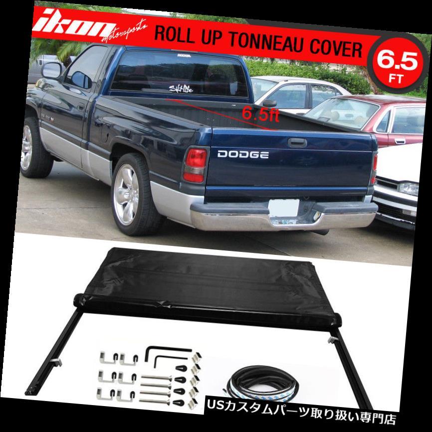 トノーカバー トノカバー 94-01ダッジラム1500 94-02ラム2500 3500 78インチベッドブラックトノーカバーにフィット Fits 94-01 Dodge Ram 1500 94-02 Ram 2500 3500 78 Inch Bed Black Tonneau Cover