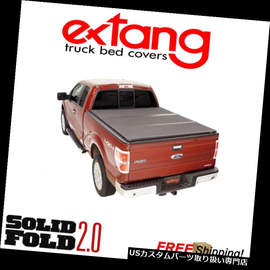 トノーカバー トノカバー Extang Solid Fold 2.0ハードフォールディングトノカバー14-18ツンドラ6.5 'ベッドw /トラック付 Extang Solid Fold 2.0 Hard Folding Tonneau Cover 14-18 Tundra 6.5 ' Bed w/ Track