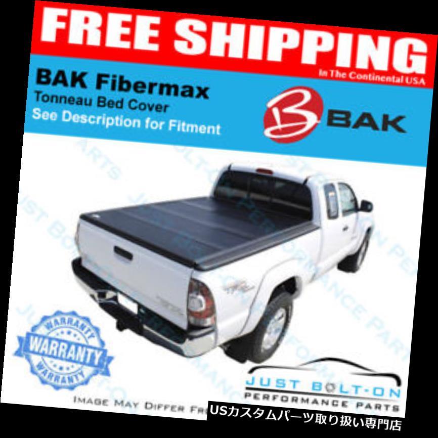 トノーカバー トノカバー BakFlip Fibermax Tonneauカバーは2005-2015トヨタタコマ5 'ベッド#1126406に適合 BAKFlip Fibermax Tonneau Cover Fits 2005-2015 Toyota Tacoma 5' Bed #1126406