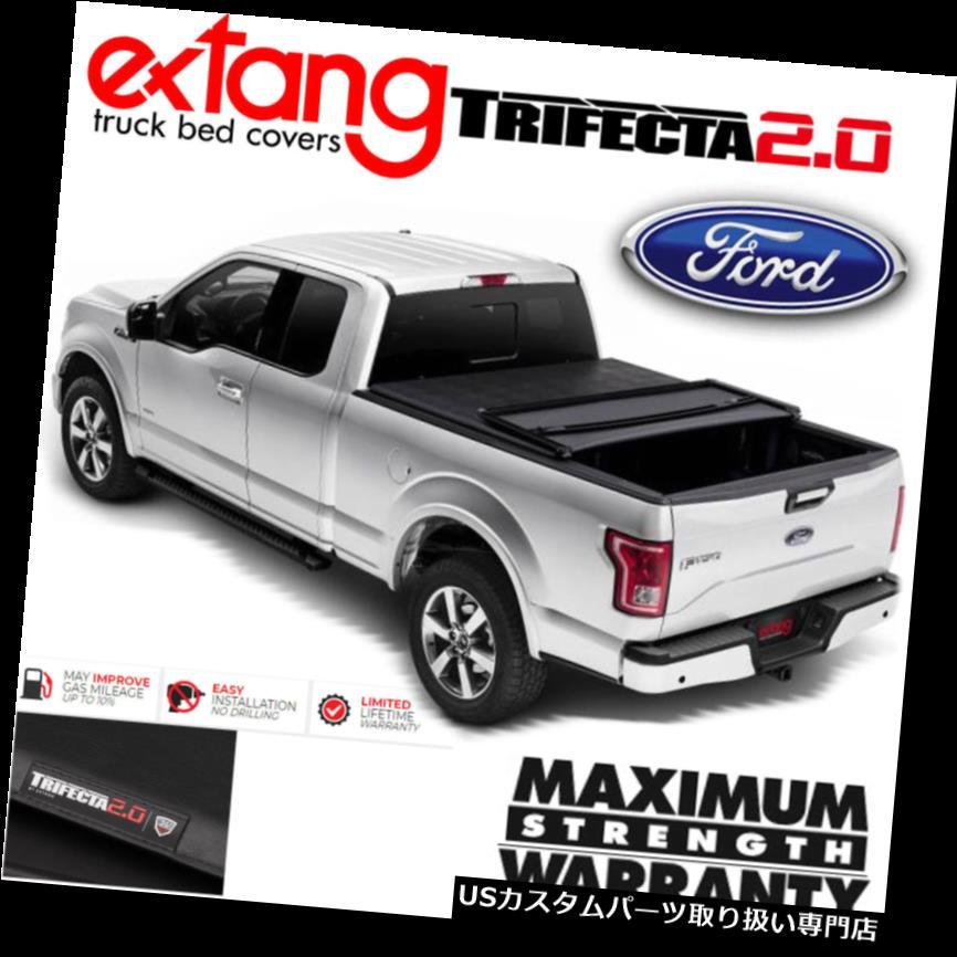 USトノーカバー/トノカバー 2009-2014フォードF150 8FTベッドのためのEXTANG Trifecta 2.0トライフォールドビニールトノカバーカバー EXTANG Trifecta 2.0 Tri Fold Vinyl Tonneau Cover For 2009-2014 Ford F150 8FT Bed