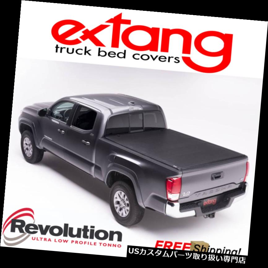 USトノーカバー/トノカバー EXTANG革命ロールアップソフトトノーカバーフィット07-18トヨタツンドラ6.5 'ベッド EXTANG Revolution Roll Up Soft Tonneau Cover Fits 07-18 Toyota Tundra 6.5' Bed