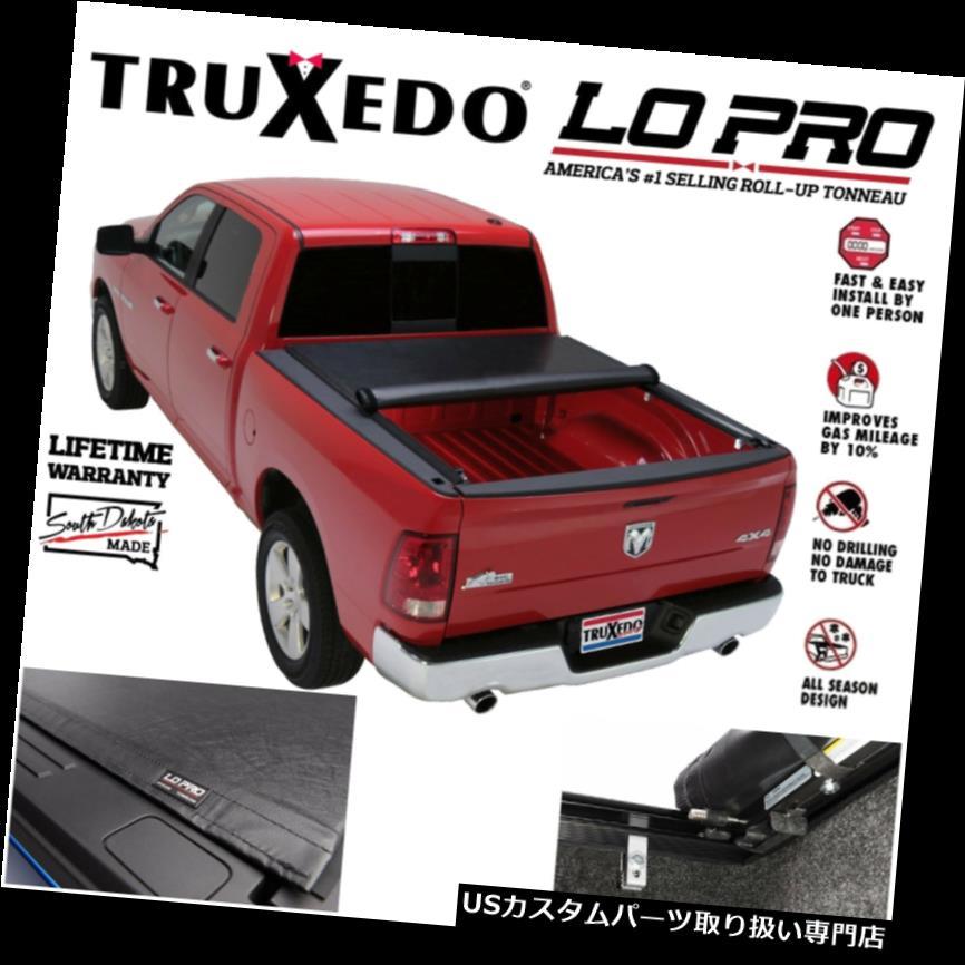 USトノーカバー/トノカバー 15-19 Sierra 2500 3500 6.5フィートベッド用Truxedo Lo Pro QTインサイドレールトノーカバー Truxedo Lo Pro QT Inside Rail Tonneau Cover For 15-19 Sierra 2500 3500 6.5ft bed
