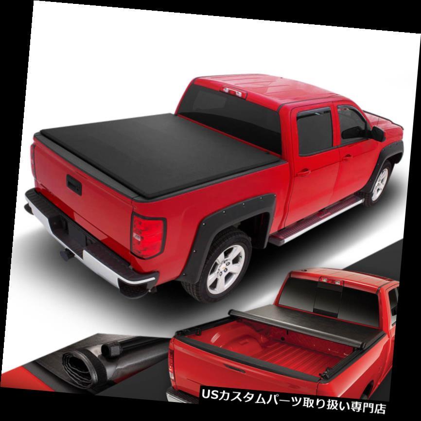 トノーカバー トノカバー ピックアップトラックベッドビニールロールアップ+ロックソフトトネカバー15-18フォードF150 6.5FT PICKUP TRUCK BED VINYL ROLL-UP+LOCK SOFT TONNEAU COVER FOR 15-18 FORD F150 6.5FT