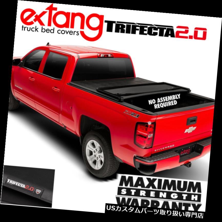トノーカバー トノカバー EXTANG Trifecta 2.0トリフォールドビニールベッドカバー15-19 Sierra 2500 3500 6.5FTベッド EXTANG Trifecta 2.0 Tri Fold Vinyl Bed Cover 15-19 Sierra 2500 3500 6.5FT Bed