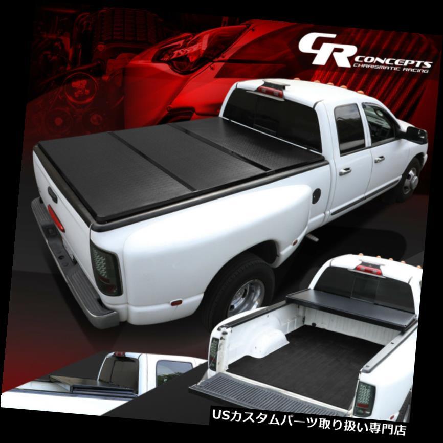 USトノーカバー/トノカバー 09-18 RAMトラック用の三つ折りアルミニウム強化ポリマートネカバー5.8フィート TRI-FOLD ALUMINUM REINFORCED POLYMER TONNEAU COVER FOR 09-18 RAM TRUCK 5.8'BED
