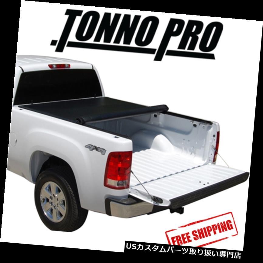 トノーカバー トノカバー Tonno Pro Lo-Rollソフトトノカバーは2004-2014 GMCキャニオン5 'ベッドにフィット Tonno Pro Lo-Roll Soft Tonneau Cover Fits 2004-2014 GMC Canyon 5' Bed