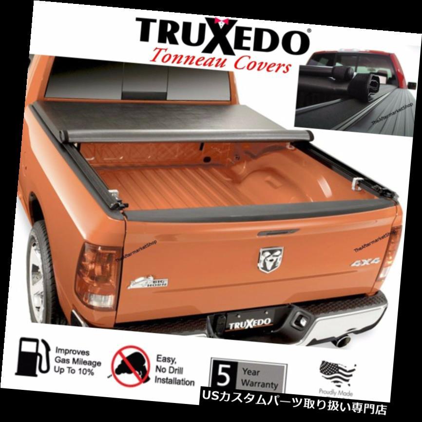 トノーカバー トノカバー TruXport TruXedo Tonneauカバーは2009-2018ラム1500 6.4 'ベッド76Inをロールアップします。 246901 TruXport TruXedo Tonneau Cover Roll Up 2009-2018 Ram 1500 6.4' Bed 76In. 246901