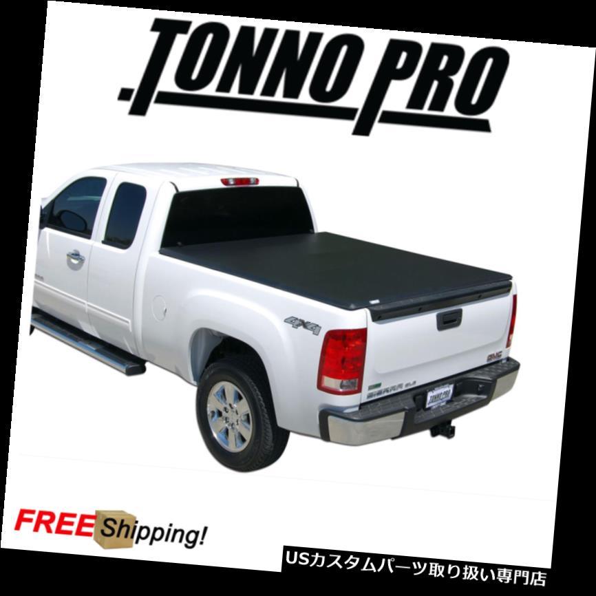 トノーカバー トノカバー Tonno Pro 3つ折りソフトTonneauカバーは2015-2017シボレーコロラド6 'にフィット Tonno Pro Tri-Fold Soft Tonneau Cover Fits 2015-2017 Chevy Colorado 6' Bed