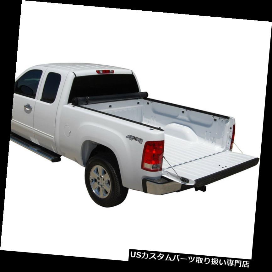 トノーカバー トノカバー 6.5 'ベッドは2007-2013年のシボレーシルバラードGMCシエラのためのトノーカバーを転がします 6.5' Bed Roll Up Tonneau Cover For 2007-2013 Chevy Silverado GMC Sierra