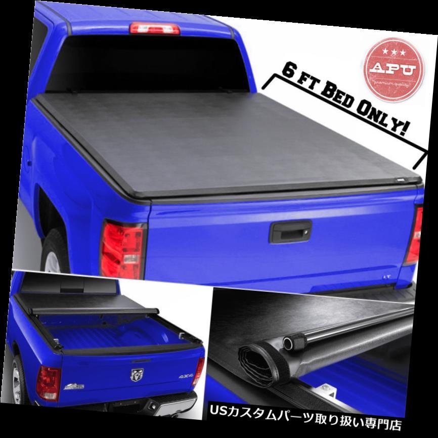 トノーカバー トノカバー APU 94-04 6 'ベッドソフトロールアップトノカバー付きCHEVY S10 / GMC S15 APU 94-04 CHEVY S10/GMC S15 with 6' Bed Soft Rollup Tonneau Cover