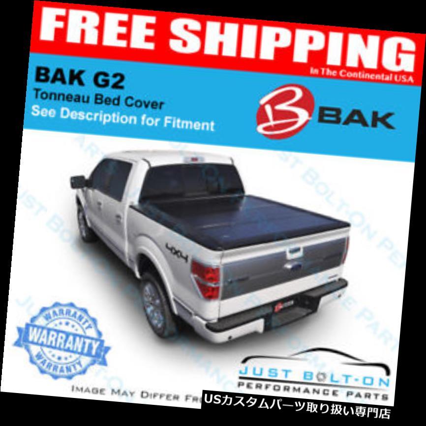 トノーカバー トノカバー BAKFlip G2 Tonneauカバーは2000-2004トヨタタコマ5 'ベッド#226404にフィット BAKFlip G2 Tonneau Cover Fits 2000-2004 Toyota Tacoma 5' Bed #226404