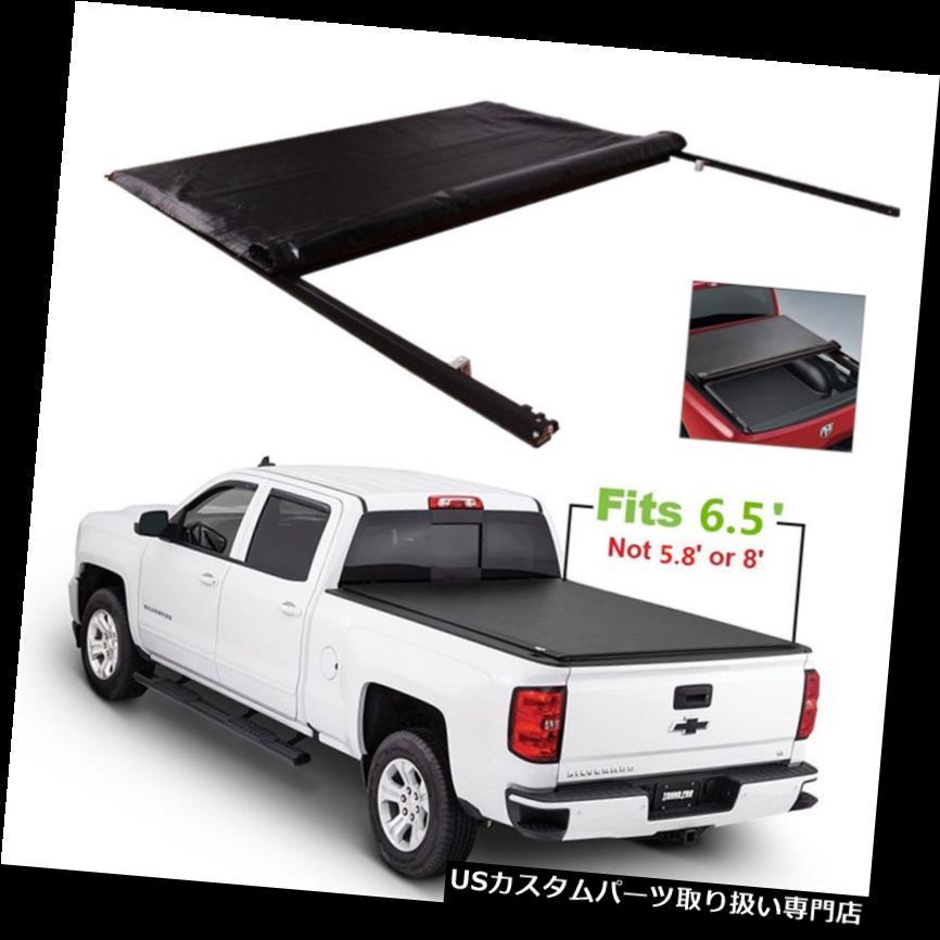 トノーカバー トノカバー シボレーシルバラードGMCシエラ2007年-13のJDMSPEEDロールアップトノーカバー6.5 'ベッド JDMSPEED For Chevy Silverado GMC Sierra 2007-13 Roll Up Tonneau Cover 6.5' Bed
