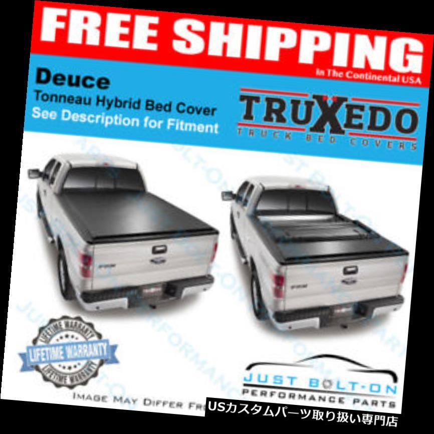 USトノーカバー/トノカバー TruXedo Deuce Tonneauカバー2014-2018-2018 GM 2500/3500(HD)6'6