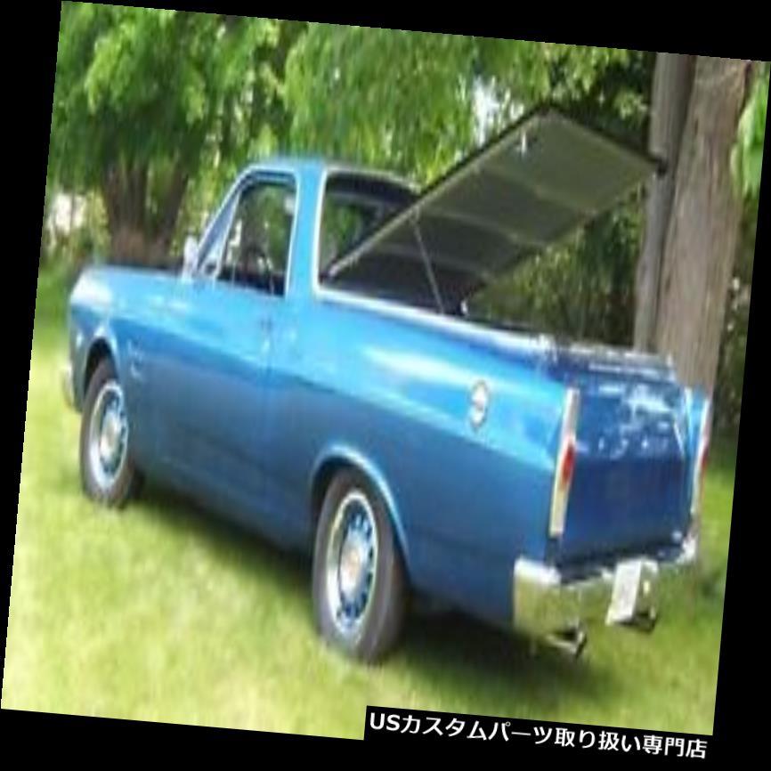 トノーカバー トノカバー 1966 - 67フォードRancheroハッチスタイルトノーカバーby Craftec Covers 1966-67 Ford Ranchero Hatch Style Tonneau Cover by Craftec Covers