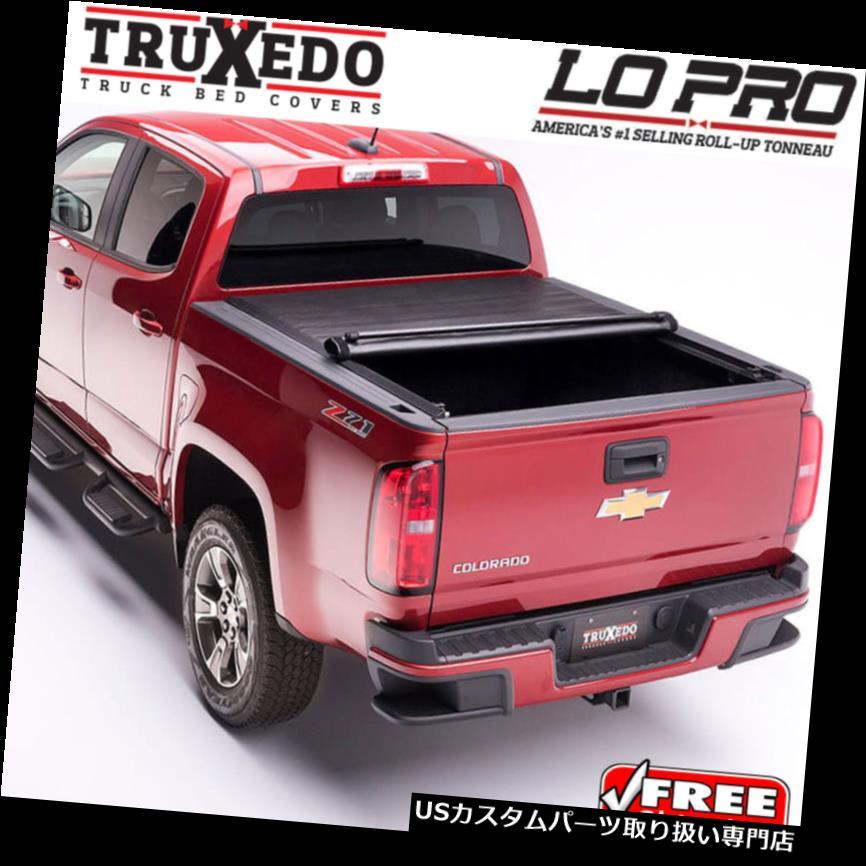 USトノーカバー/トノカバー TruXedo Lo Pro Tonneauロールアップカバー15-18フォードF150 8 'フットロングベッド598701 TruXedo Lo Pro Tonneau Roll Up Cover for 15-18 Ford F150 8' Foot Long Bed 598701