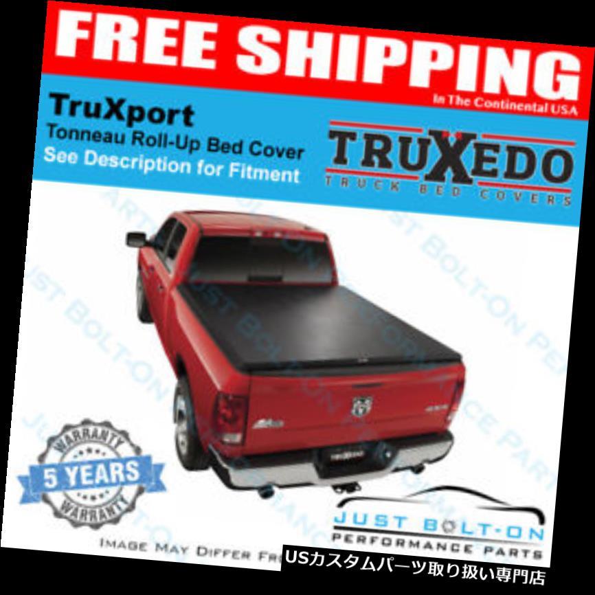 トノーカバー トノカバー TruXedo TruXport Tonneauカバー09-12フォードF-150 w /トラックシステム6'6