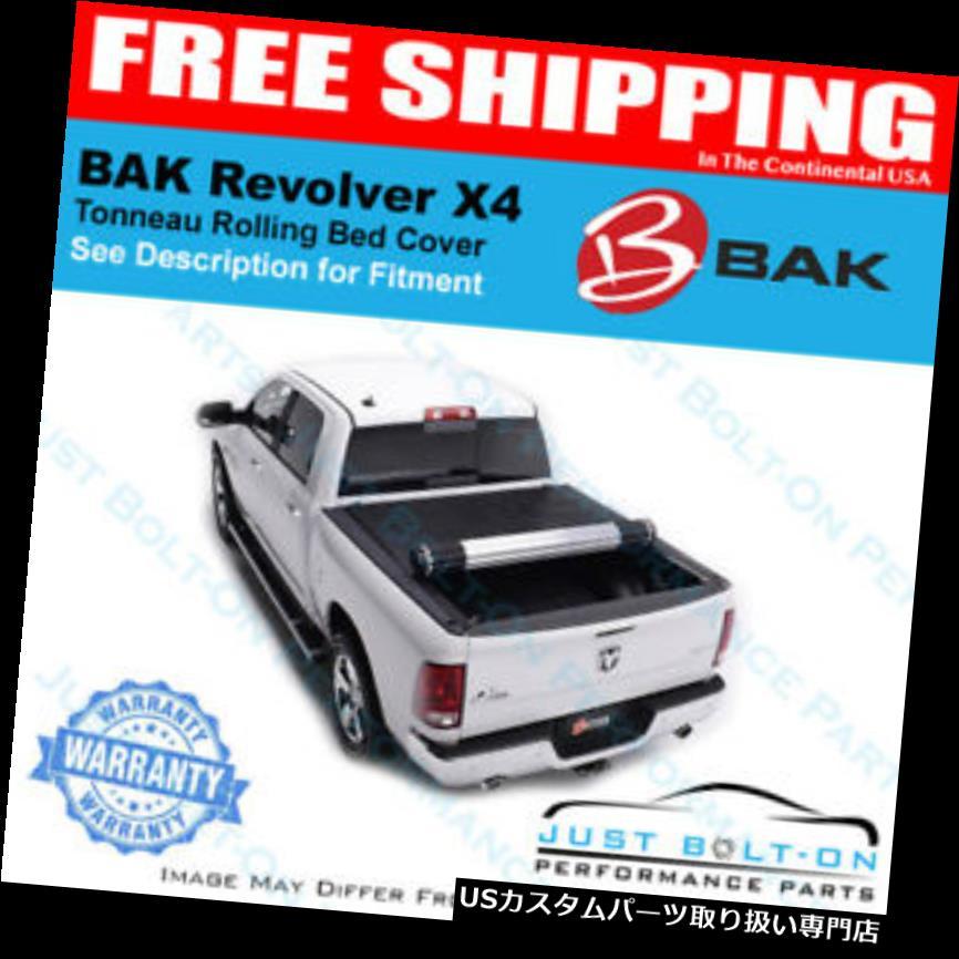 トノーカバー トノカバー BakリボルバーX 4フィット09-18ドッジラム8 'ベッドトノーカバー#79214 BAK Revolver X4 FITS 09-18 Dodge Ram 8' Bed Tonneau Cover #79214