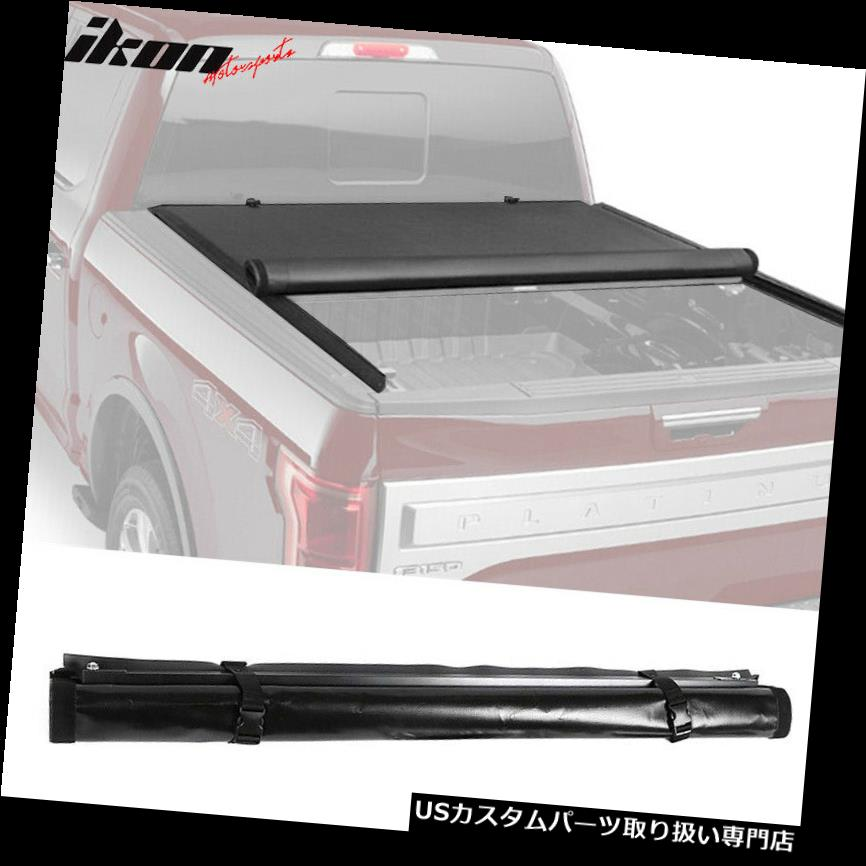 トノーカバー トノカバー 99-07 Silverado / Sier  raスタンダードベッド6.6 'ベッドロールアップトノーカバー Fits 99-07 Silverado/Sierra Standard Bed 6.6' Bed Roll Up Tonneau Cover