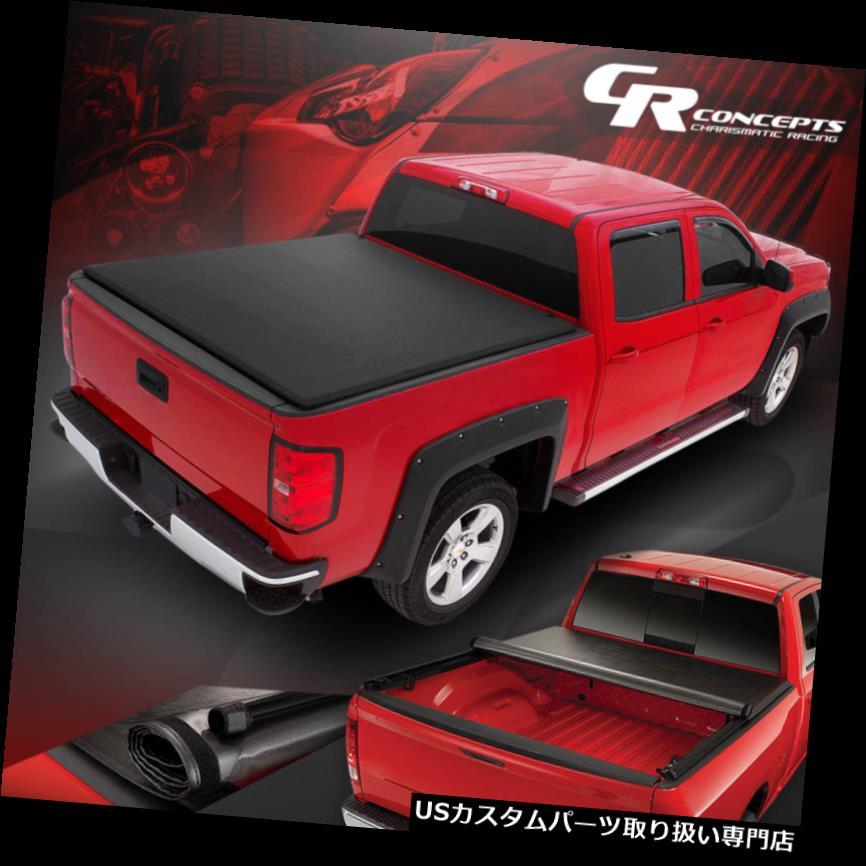 トノーカバー トノカバー 02-09 RAMトラック6.5 'フリートサイド用ロールアップトラックベッドソフトビニルトンカバーカバー ROLL-UP TRUCK BED SOFT VINYL TONNEAU COVER FOR 02-09 RAM TRUCK 6.5' FLEETSIDE