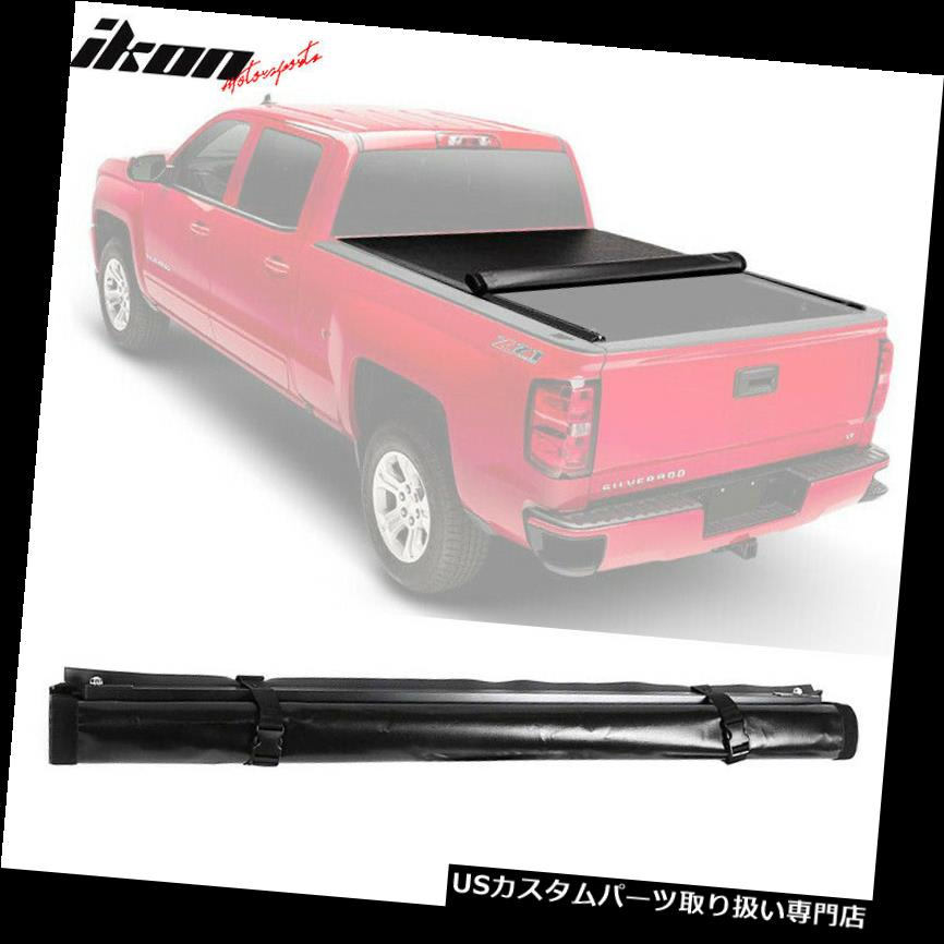 トノーカバー トノカバー フィット10-18ラム1500 2500 3500 5.7 'ベッドロックソフトロールアップレザートノーカバー Fit 10-18 Ram 1500 2500 3500 5.7' Bed Lock Soft Roll Up Leather Tonneau Cover