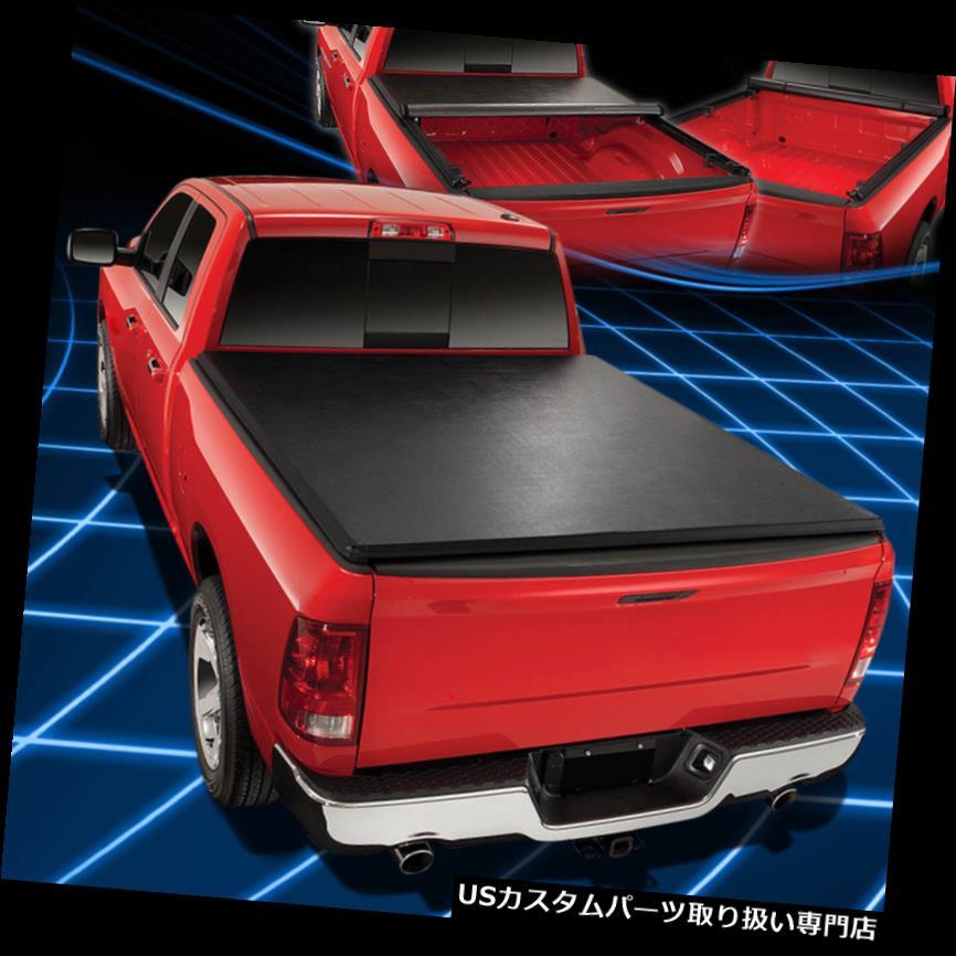 トノーカバー トノカバー 09-18ラムトラック6.5 'ショートベッドトップロールアップ&ロックソフトビニールトノカバー用 For 09-18 Ram Truck 6.5' Short Bed Top Roll-Up&Lock Soft Vinyl Tonneau Cover