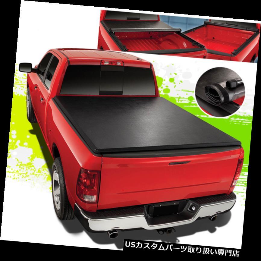トノーカバー トノカバー 09-18用RAMトラック6.5FTショートベッドロック&ロールアップソフトビニールトンカバーカバーキット FOR 09-18 RAM TRUCK 6.5FT SHORT BED LOCK&ROLL-UP SOFT VINYL TONNEAU COVER KIT