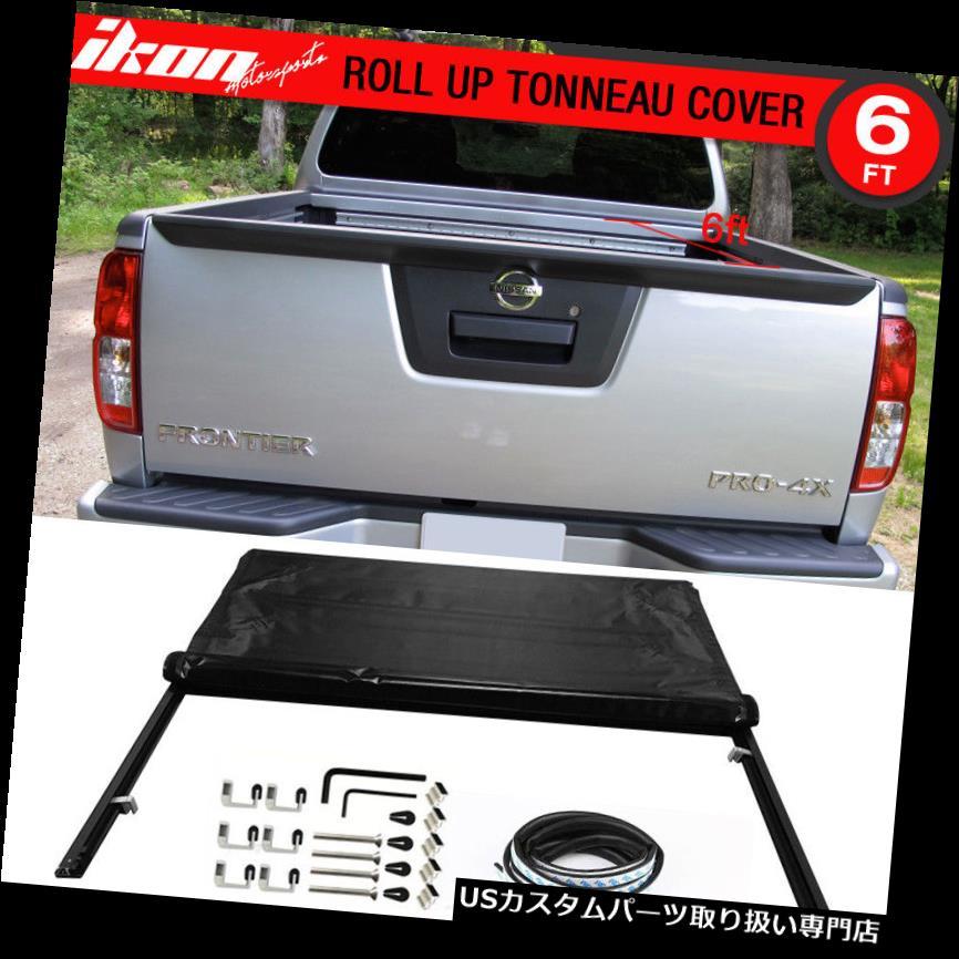 トノーカバー トノカバー フント05-16フロンティア6フィート/ 72インチベッドロックソフトロールアップトノーカバー Fits 05-16 Frontier 6 feet / 72 inch Bed Lock Soft Roll Up Tonneau Cover