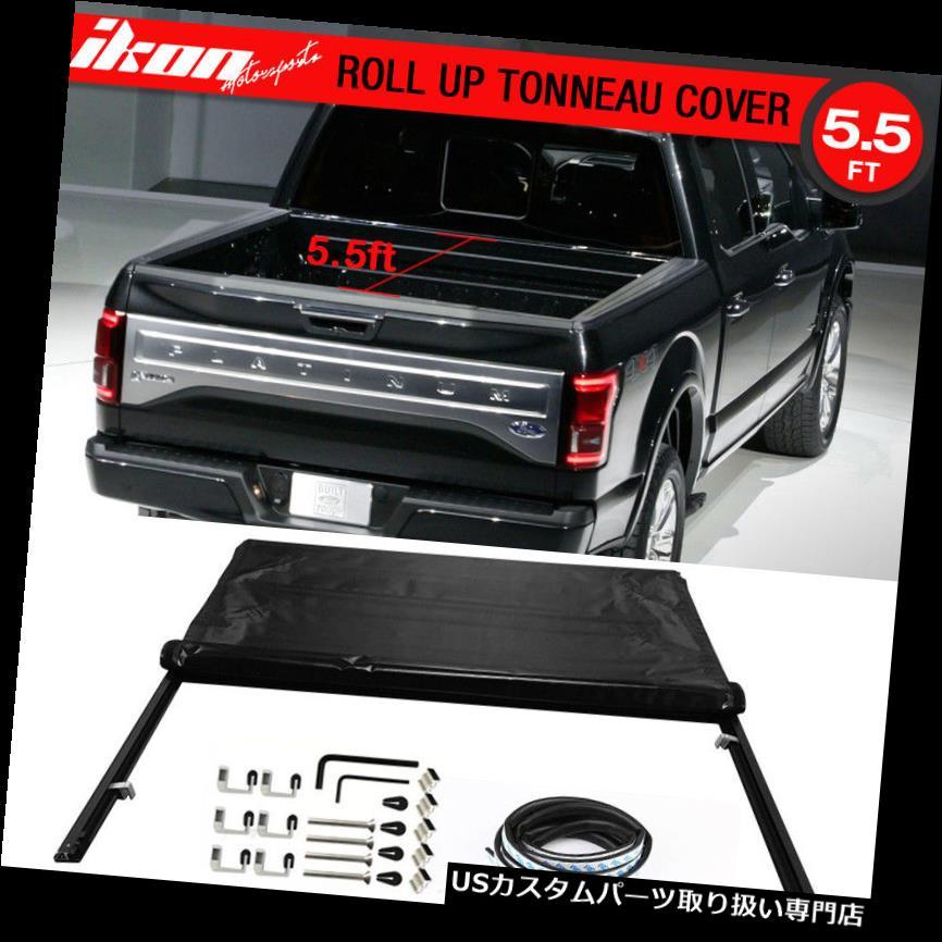 トノーカバー トノカバー 04-15 F150 F-150 5.5ft 66インチベッドロックソフトロールアップビニールトノカバー2004にフィット Fits 04-15 F150 F-150 5.5ft 66in Bed Lock Soft Roll Up Vinyl Tonneau Cover 2004