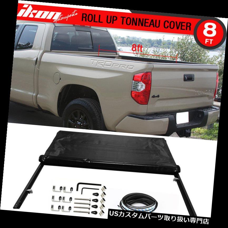 トノーカバー トノカバー フィット14-17トヨタツンドラ96インチベッドロックソフトロールアップトノーカバー Fits 14-17 Toyota Tundra 96 inch Bed Lock Soft Roll Up Tonneau Cover