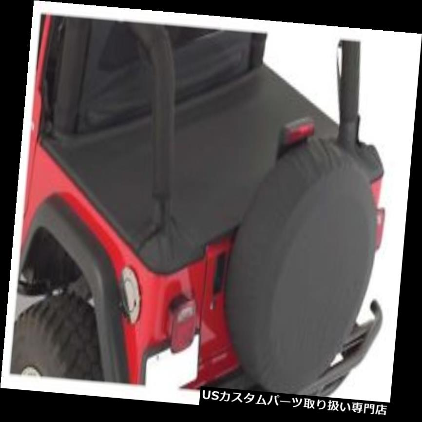 トノーカバー トノカバー One Tonneau Cover(92/95 YJ)、ブラックデニム - クラウン#TN10015 One New Tonneau Cover (92/95 YJ), Black Denim - Crown# TN10015