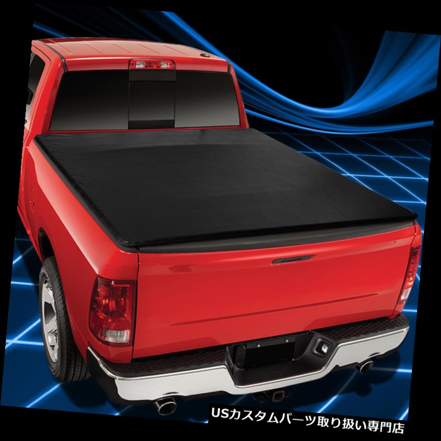 トノーカバー トノカバー 88-01シボレー/ GMC C / Kトラック6.5'Shortベッド用ソフトロールアップトノーカバーアセンブリ Soft Roll-Up Tonneau Cover Assembly For 88-01 Chevy/GMC C/K Truck 6.5'Short Bed